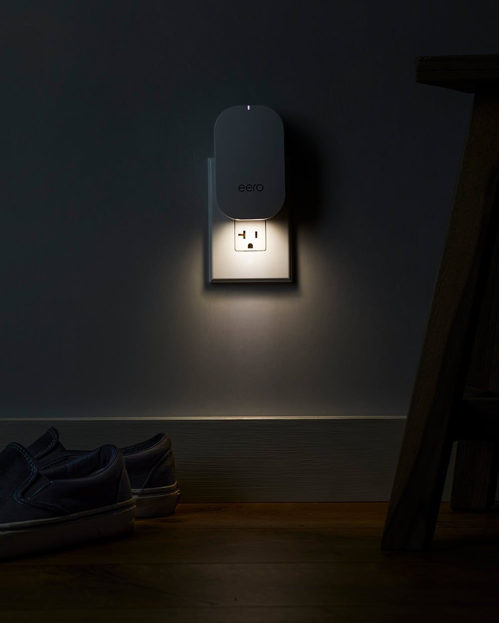 Eero Beacon With Nightlight On Night Light Light Wall Lights