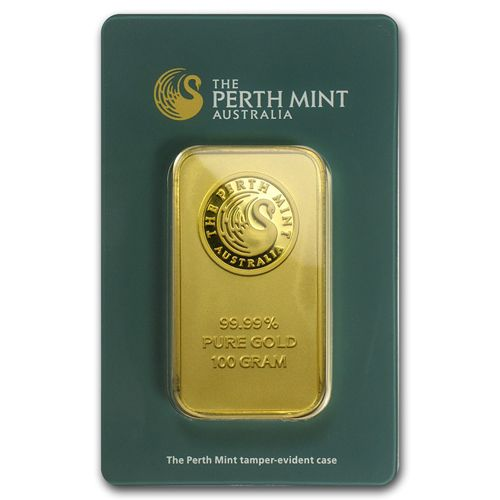 100 Gram Gold Bar Perth Private Bullion Mint Gold Gold Bar Gold Bullion Bars