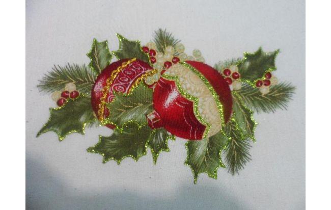Individuales para mesa con motivos navideños Posot Class