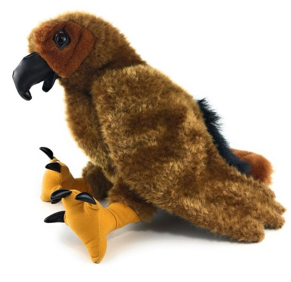 Folkmanis Folktails Red Tailed Hawk Hand Puppet Plush Bird Of Prey