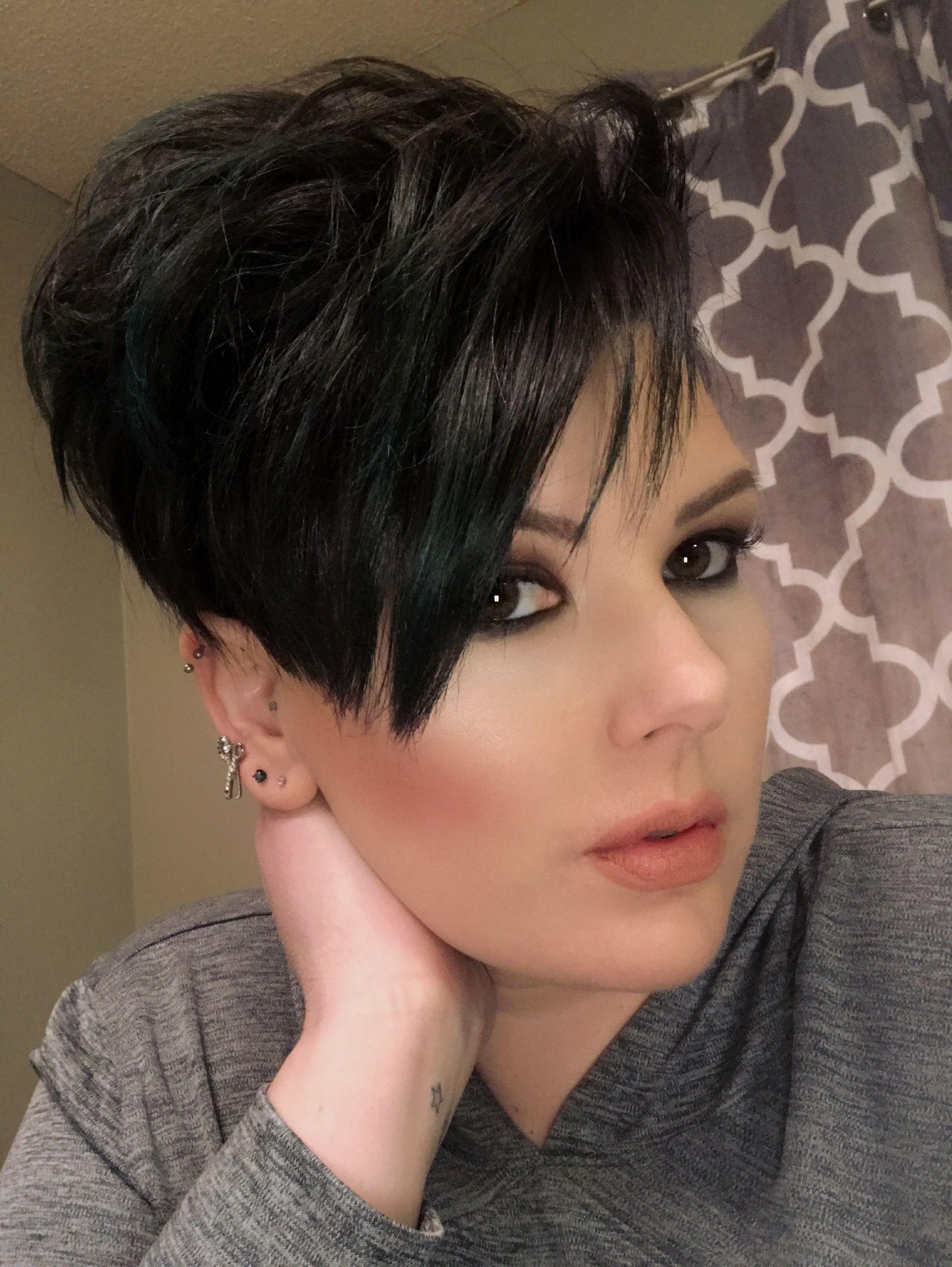 Short hair undercut short womenus hair short sexy hair pixie