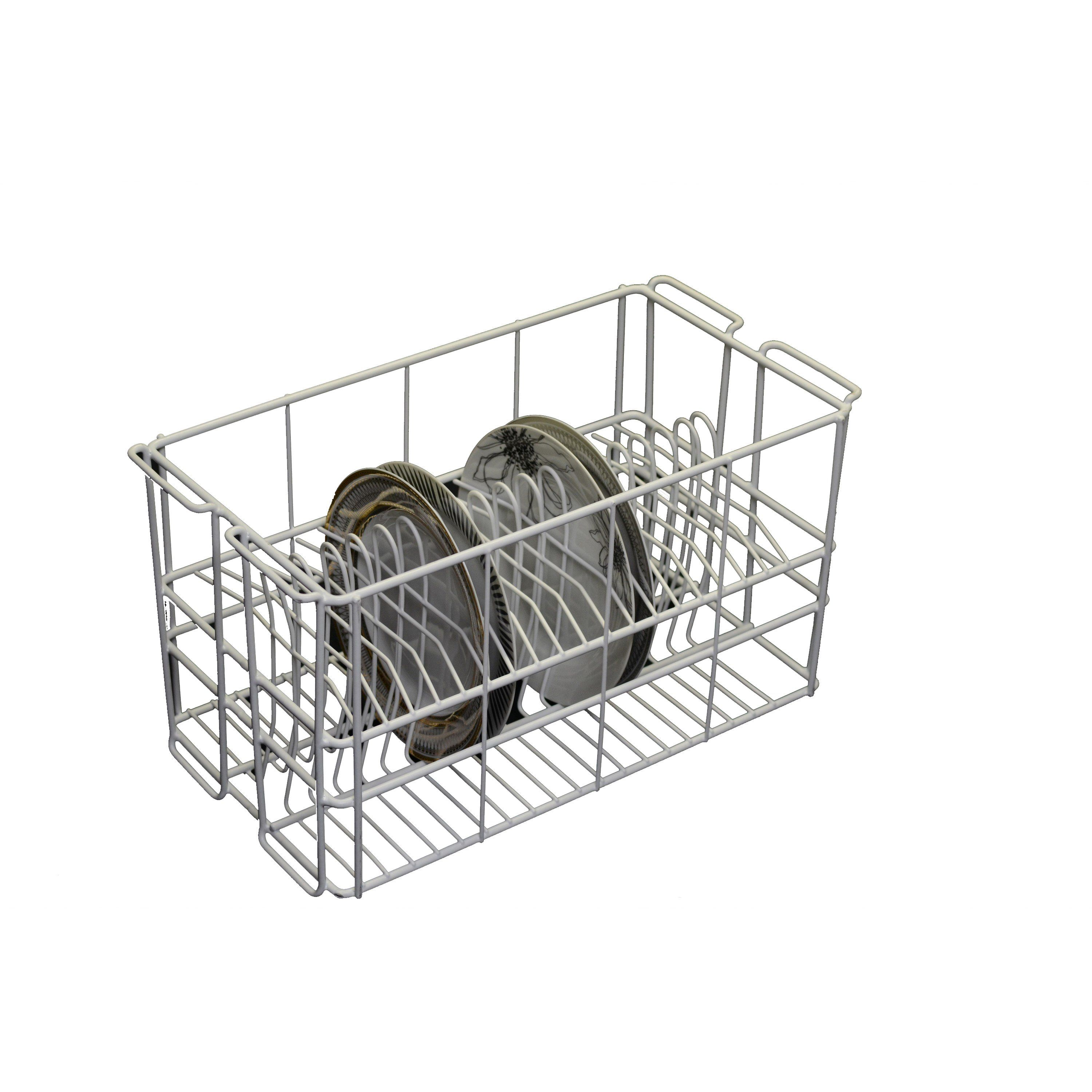 25l X 24w X 25 1 2h 20 Compartment Dinner Plate Rack Case
