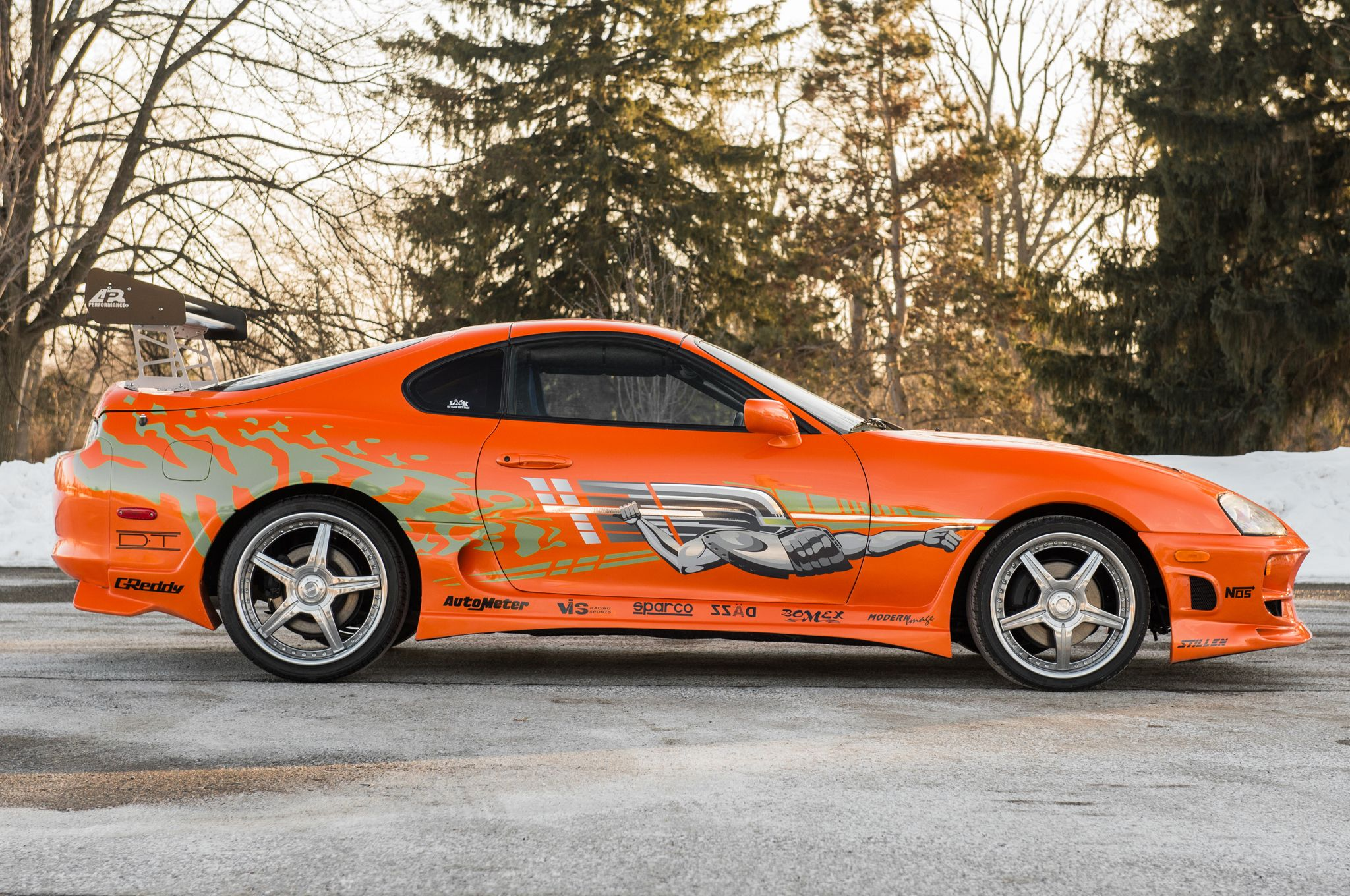 Toyota Supra, Fast And Furious, Paul Walker, 2001