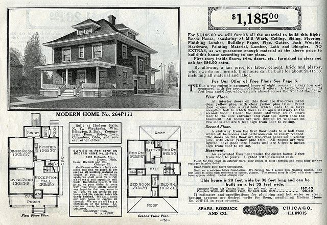 Historic Bungalow House Plans House Design Four Square Homes Farmhouse Floor Plans House Plans