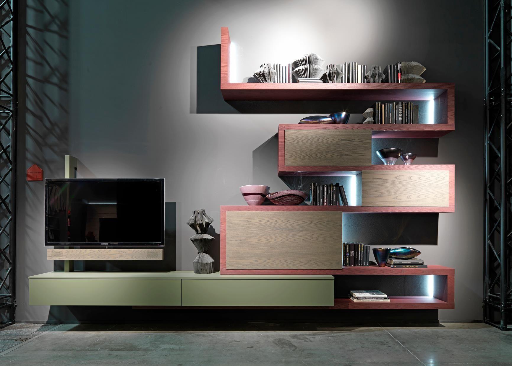 Contenitori componibili per soggiorno Fimar Mobili | Furniture ...