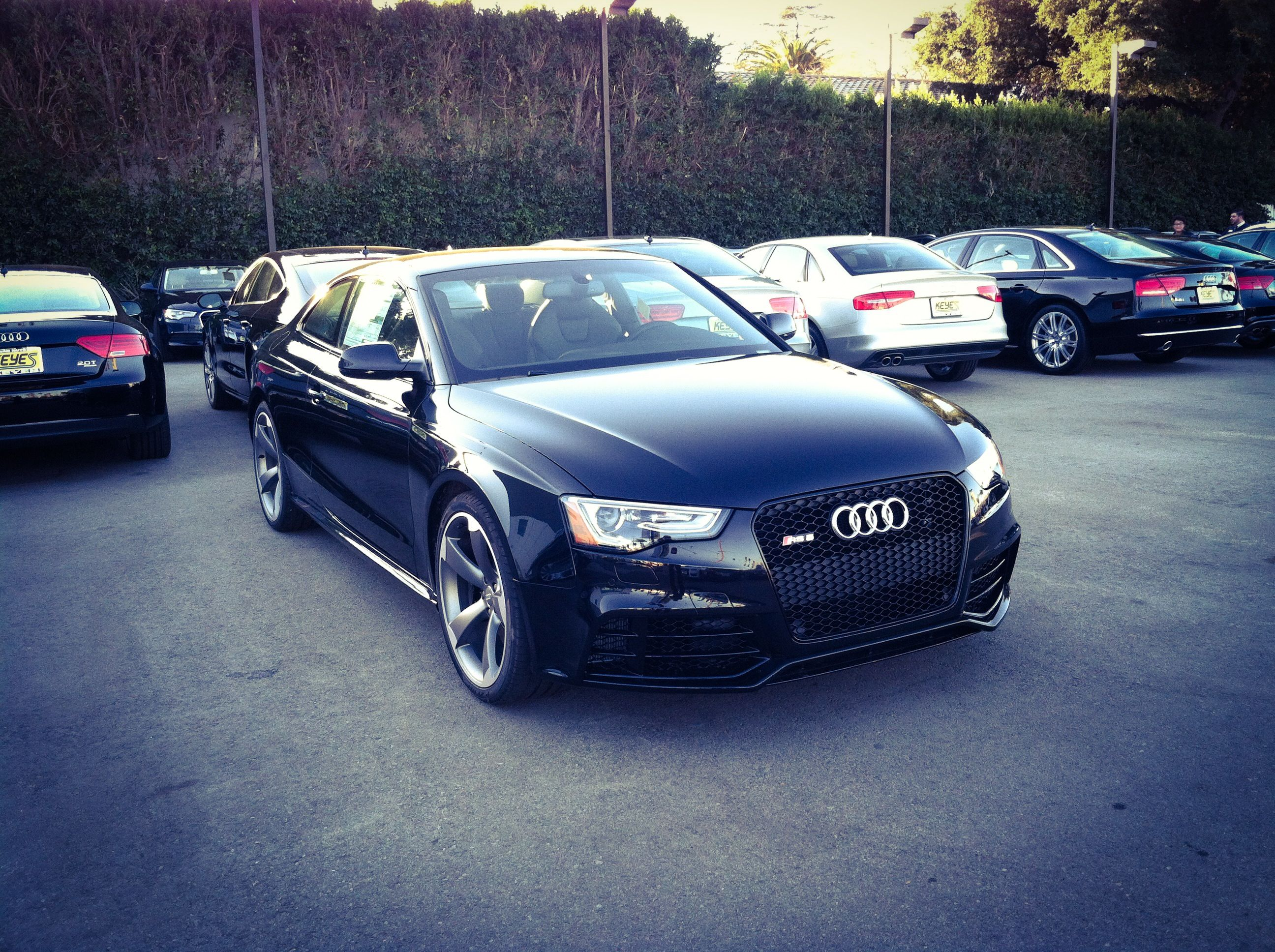 Dream audi 2014 audi rs5 black on black on titanium http