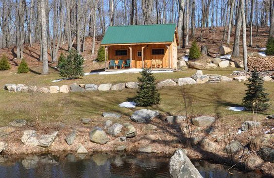 16x20 Vermont Cottage A. Kit - 2 people 40 hours. Also available as Plans. Kits ship *Free in the continental US + eastern Canada. http://jamaicacottageshop.com/shop/vermont-cottage-a/ http://jamaicacottageshop.com/wp-content/uploads/pdfs/pdf16x20vtr_a.pdf http://jamaicacottageshop.com/free-shipping/ #jamaicacottageshop #rusticcabins