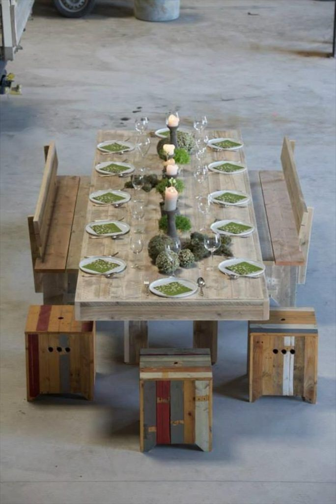 39 Times When Pallets Stole The Show Diy Dining Table Pallet