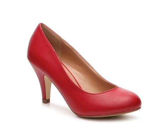 Women's Journee Collection Reetyre Pump - Red