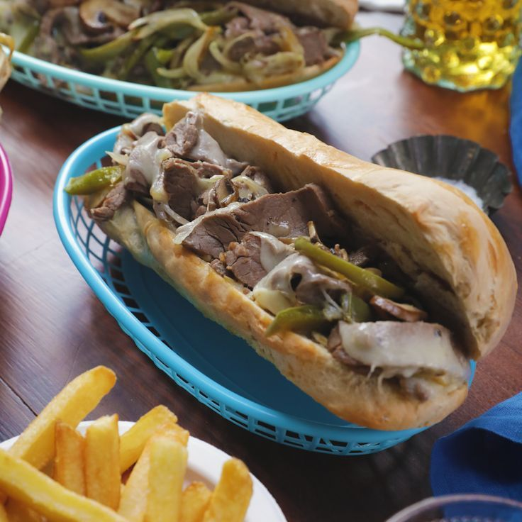 One Tray Philly Cheesesteak -