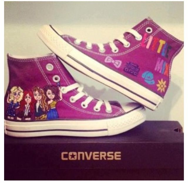 I so want these Little Mix Converse!!!!! I NEED THIS
