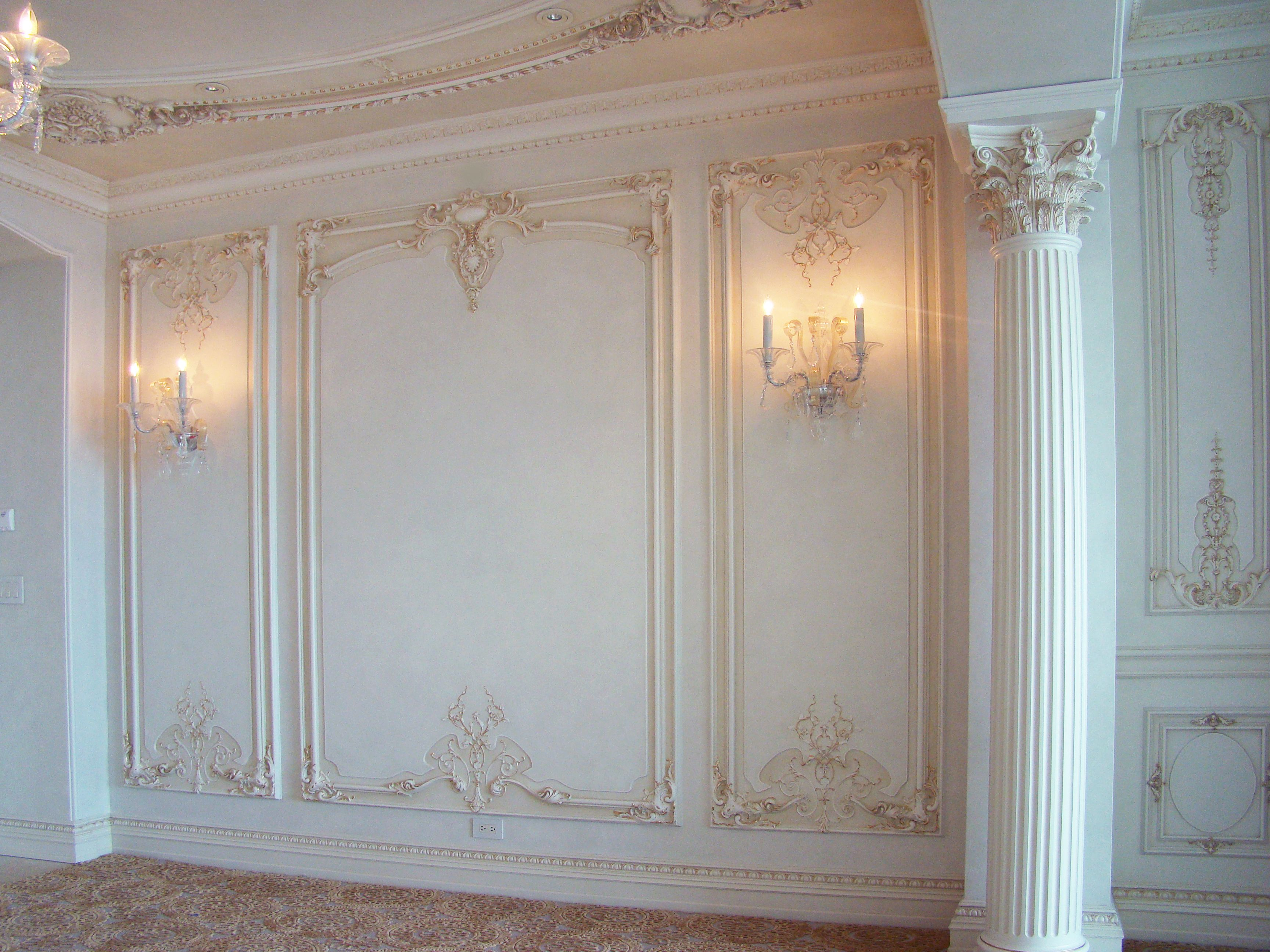 French Wall Covering : French boiserie panel wall pinterest