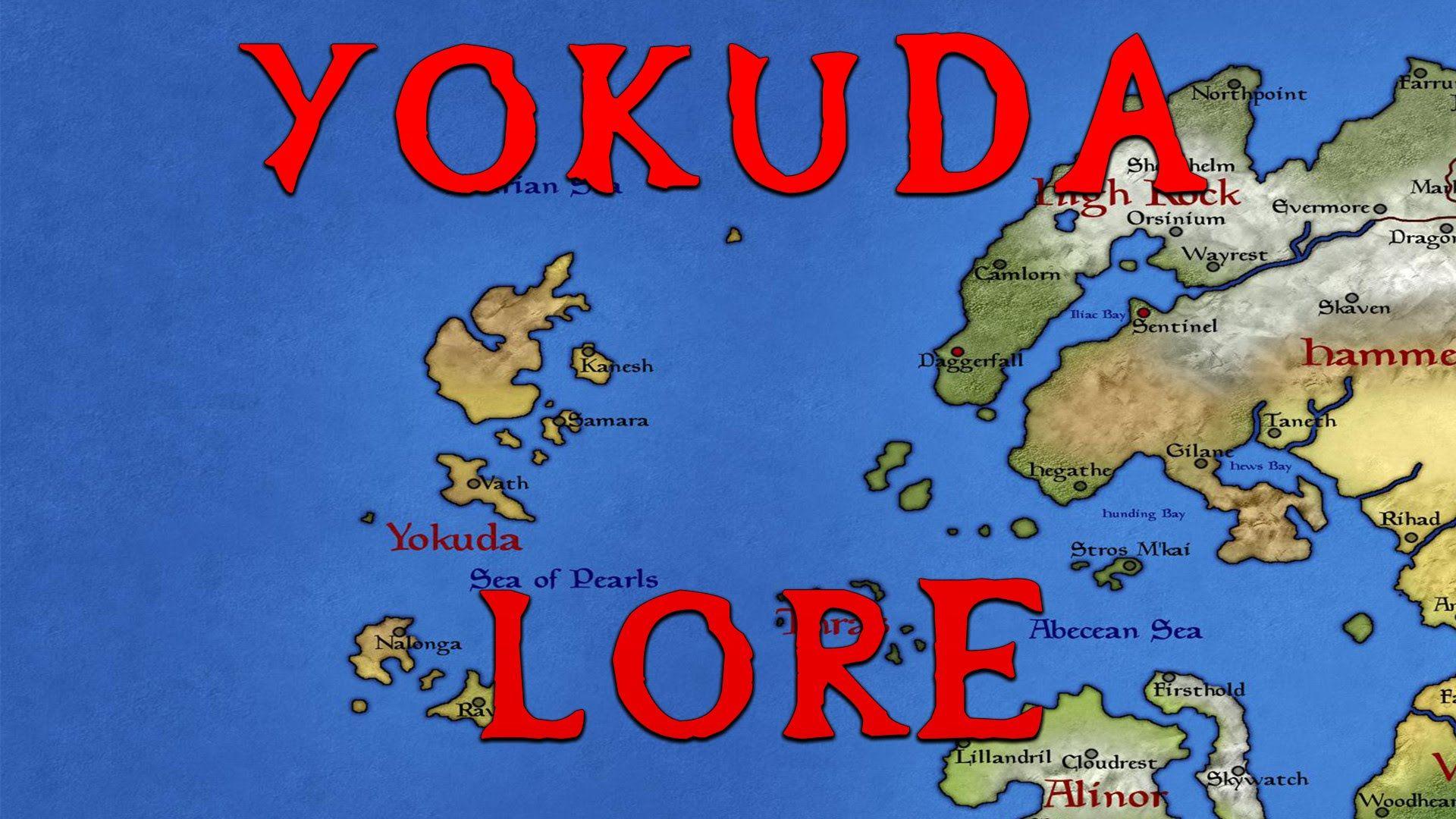 Yokuda - What Is It Like? Elder Scrolls Lore #games #Skyrim #elderscrolls #BE3 #gaming #videogames #Concours #NGC