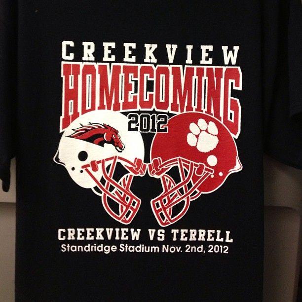 Creekview Homecoming Shirts 2012 -