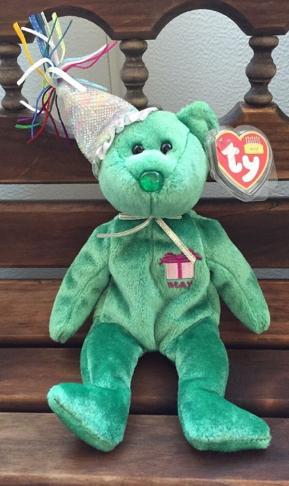 TY BEANIE BABY -THE BIRTHDAY BEANIES COLLECTION-MAY  fa4864603fe