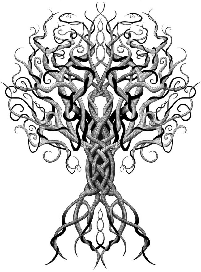 Yggdrasil Tree Of Life Tattoos Celtic Tattoos Tattoo Designs