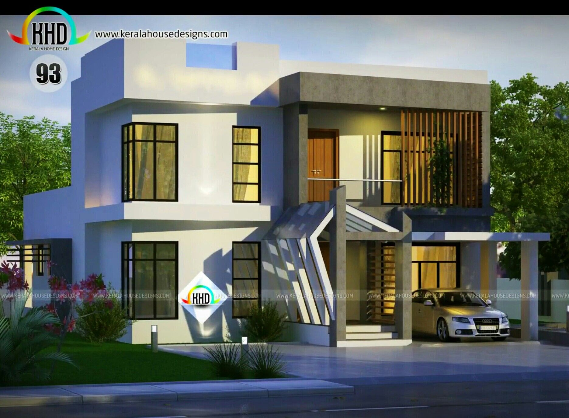 House Elevation Compact Home Also Pin By Azhar Masood On Indian Pinterest Rh