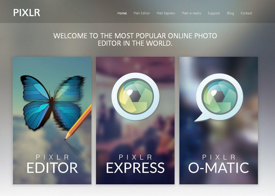 Faites vos retouches photo sans logiciel informatique Pinterest