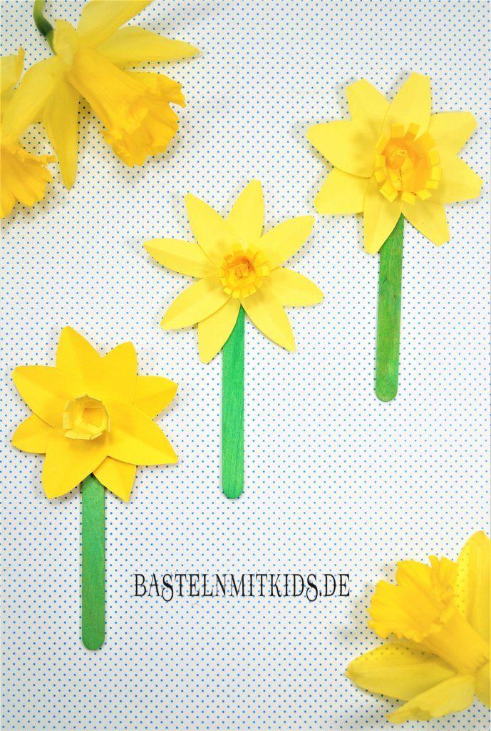 Papierblumen basteln – Bastelnmitkids