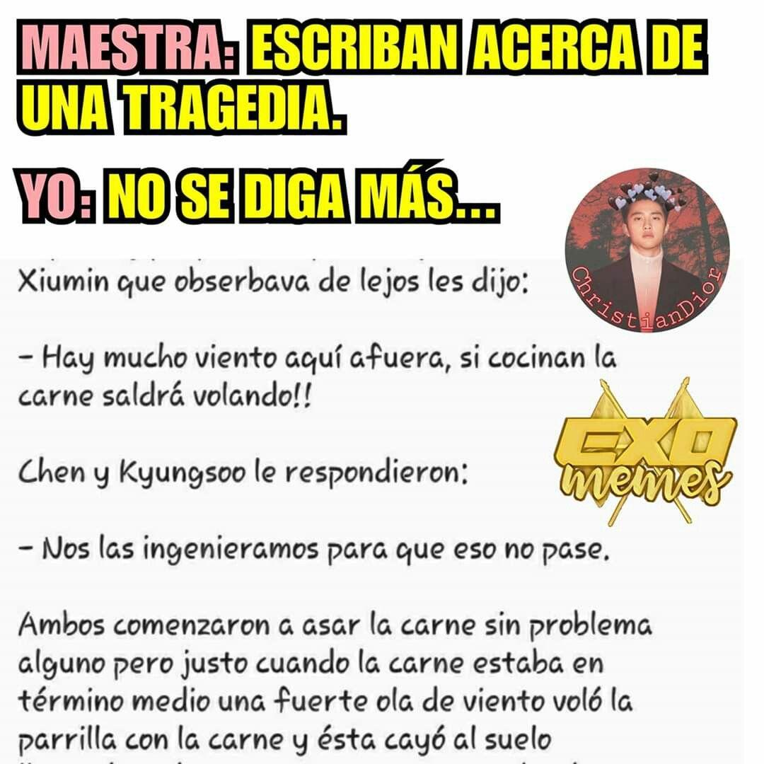 Pin De Kpoper Swagie En Memes Exo Memes Coreanos Memes Kpop Memes Divertidos