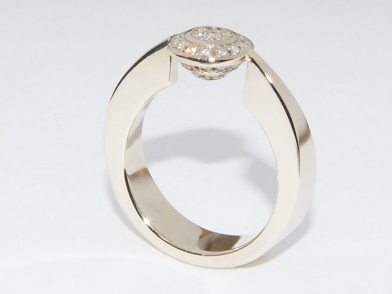 Traditional ring made modern