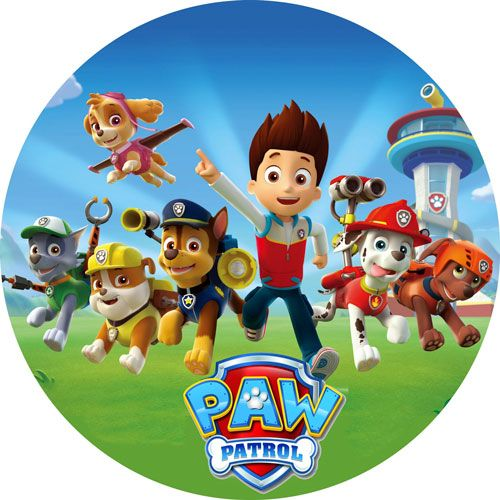 Cialda paw patrol in 2019 birthday cakes compleanno torta