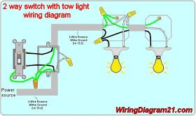 2 way switch multiple light wiring diagram 2 light
