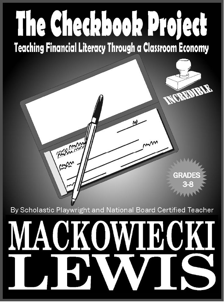 The Checkbook Project Classroom Economy Financial Literacy I Have