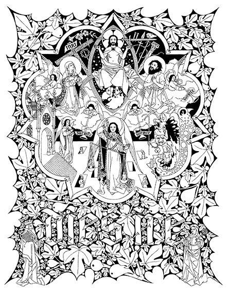 Line Drawing Vs Mass Drawing : Line drawings adoremus google search catholic art