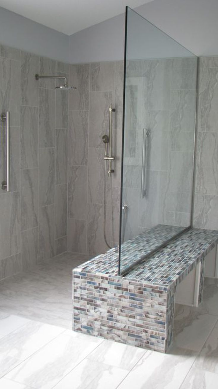 Walk In Shower Without Door For More Air And Light Small
