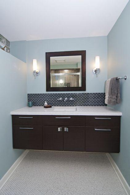 Modern Bathroom By White Crane Construction Floating Bathroom
