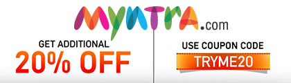 Looking for Latest Myntra Offers, Coupons and Deals - Check them Out Now at CouponzGuru! Happy Saving!
