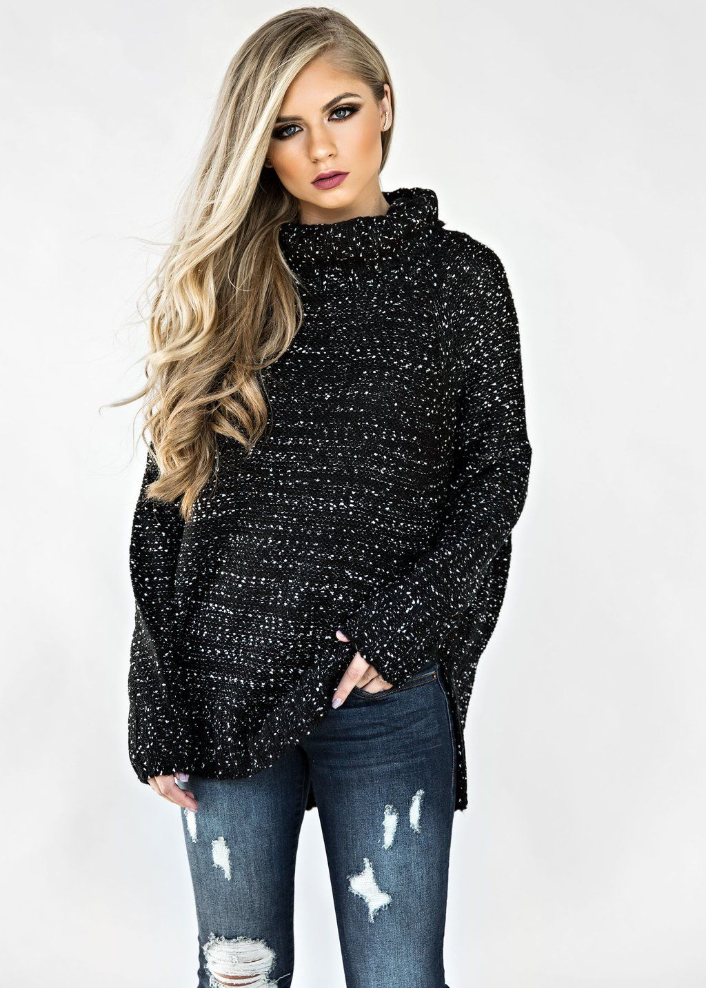 Static Snow Turtleneck Sweater, Blonde Hair, Fashion, Style ...