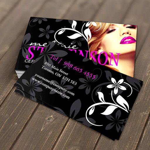 Makeup artist business card makeup artist business cards business makeup artist business card fbccfo Choice Image