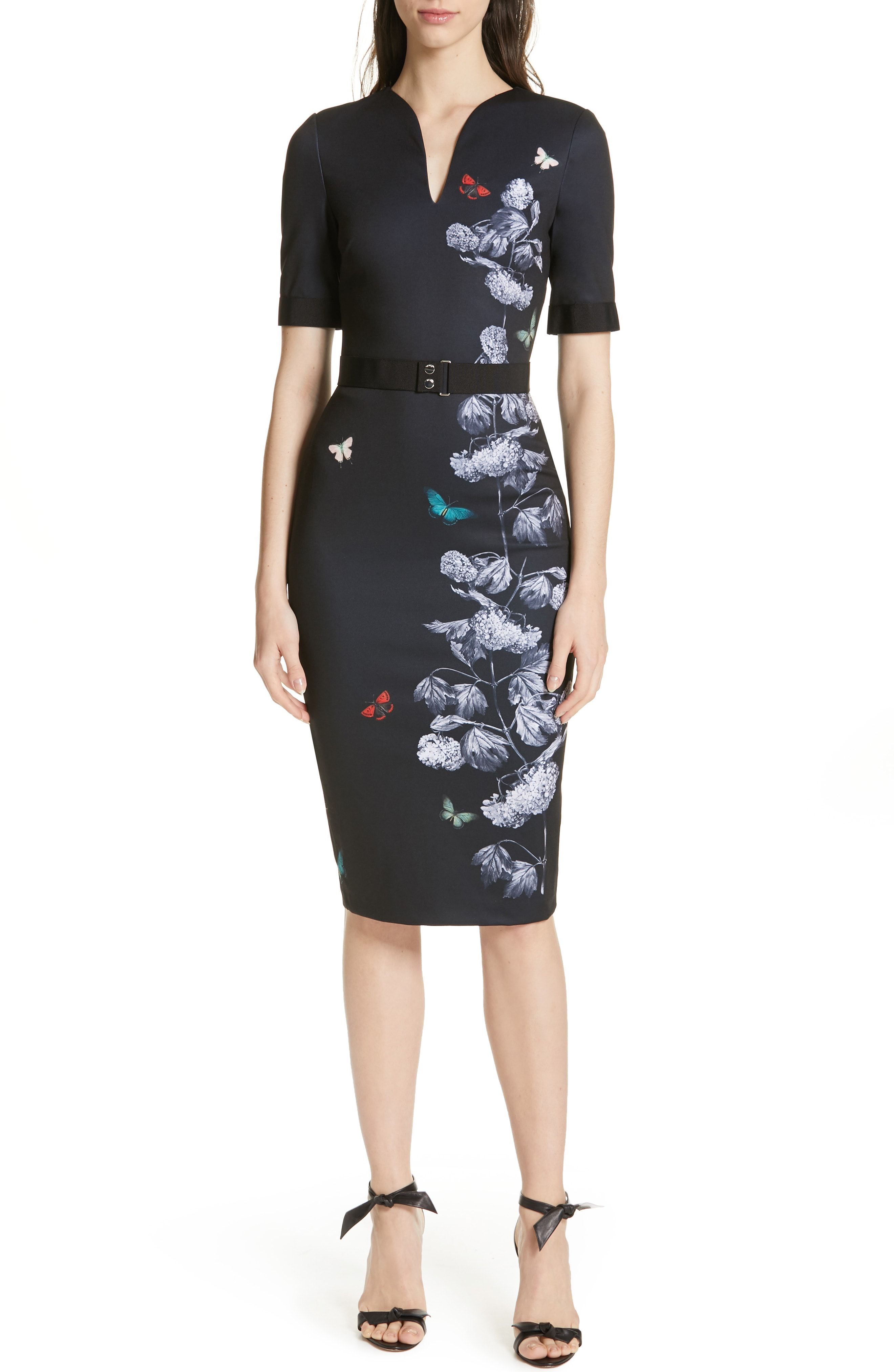 088d99bce Ted Baker London Narrnia Body-Con Dress available at  Nordstrom ...