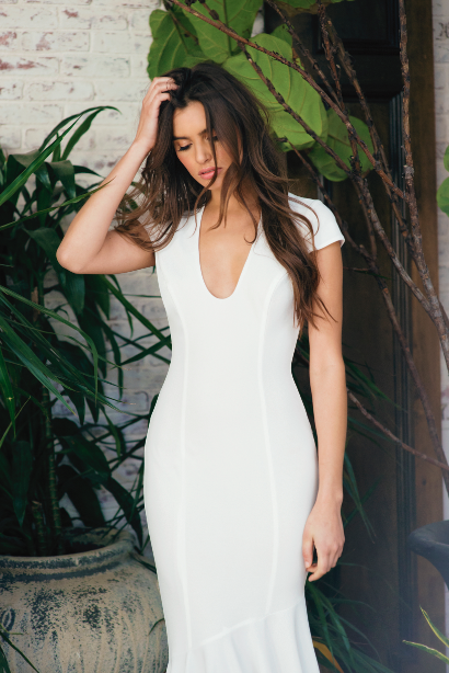 Josephine Gown  #noelandjean #bykatiemay #entrenouscollection #bridal #fashion Photography by Nicole Hill @nicollhill_ , Model: Karina Nicholson @kaarines www.noelandjean.com