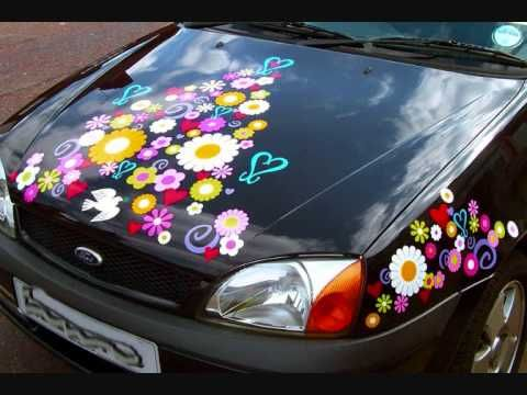 Hippy Motors Design Make And Sell The Coolest Car Stickers On The