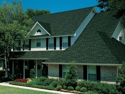 Best Roofing Shingles Gaf Timberline Hd Hunter Green Roofing Architectural Shingles Green 400 x 300