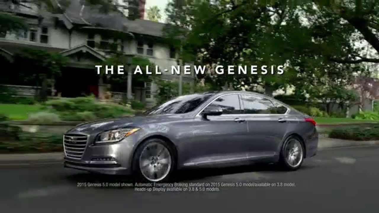 """2015 Hyundai Genesis """"Dad's Sixth Sense/IIHS"""" Remember"""