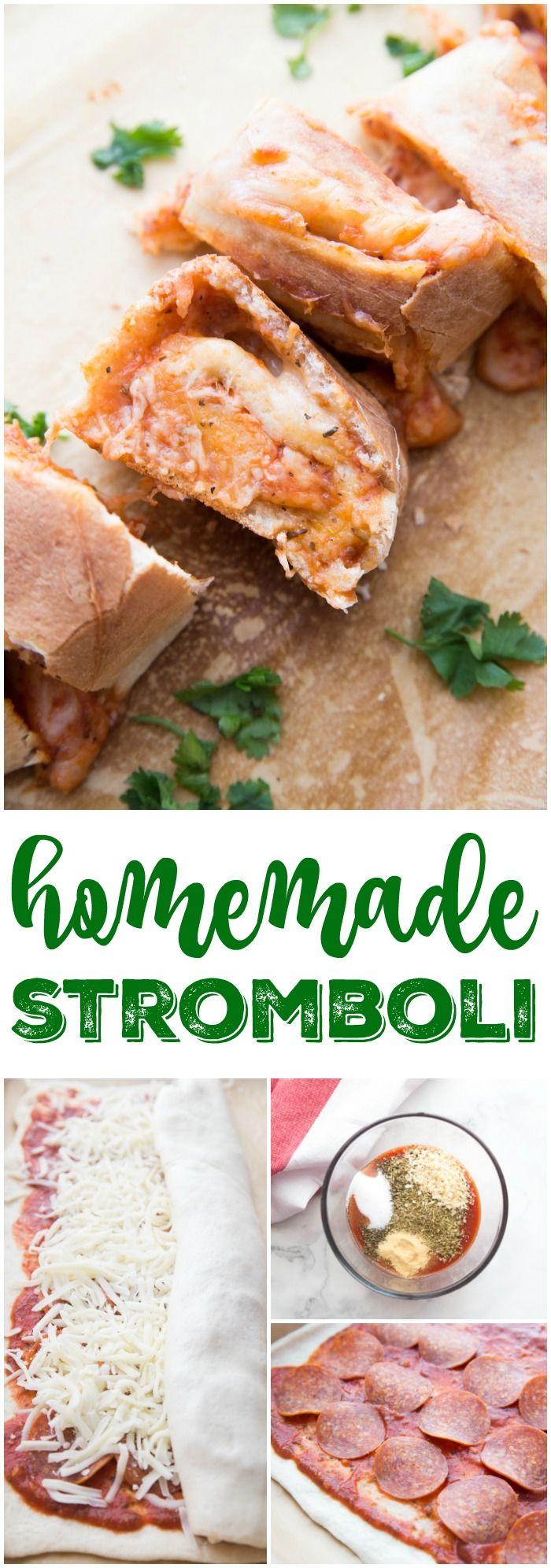 homemade stromboli recipe a kid friendly easy family dinner meal