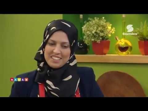 """samira tv : خفيف ظريف : مع الشاف مريم تحضير طبق """" خبز محشي """" - Samira Tv"""