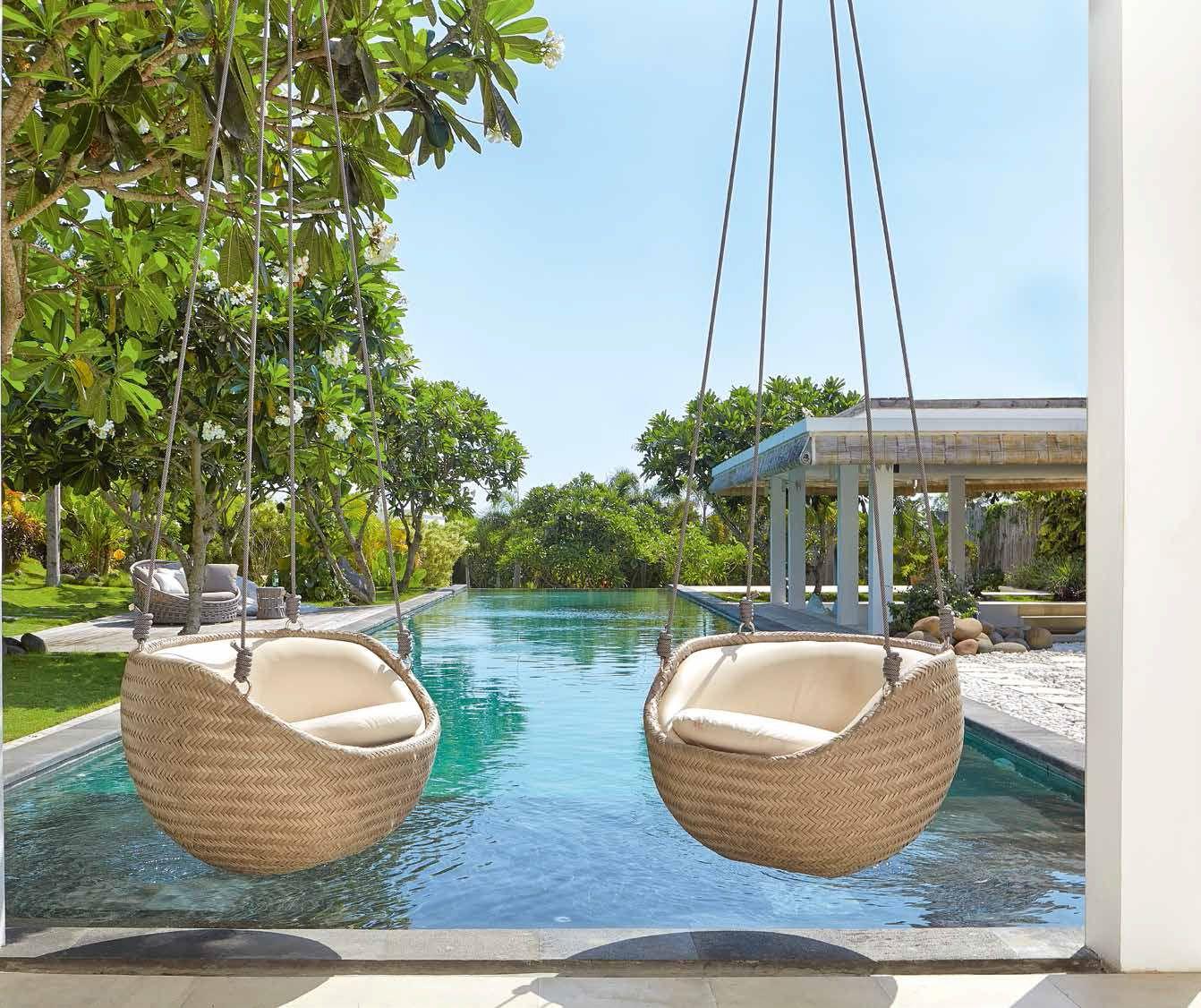 Columpios para terrazas y jardines outdoor furniture for Muebles para terraza y jardin