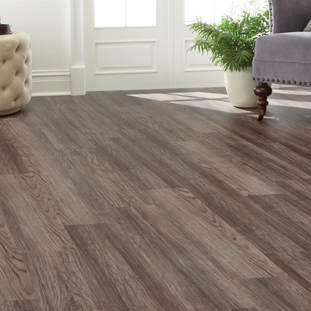 Home Decorators Collection 7.5 In. X 47.6 In. Cinder Oak