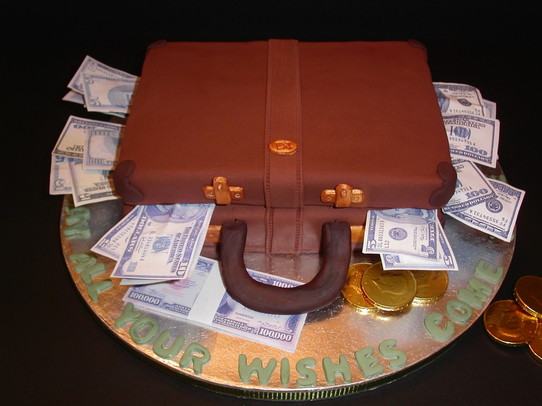 Google Bilderresultat For Httpwwwcakessosweetcombriefcase - Money birthday cake images