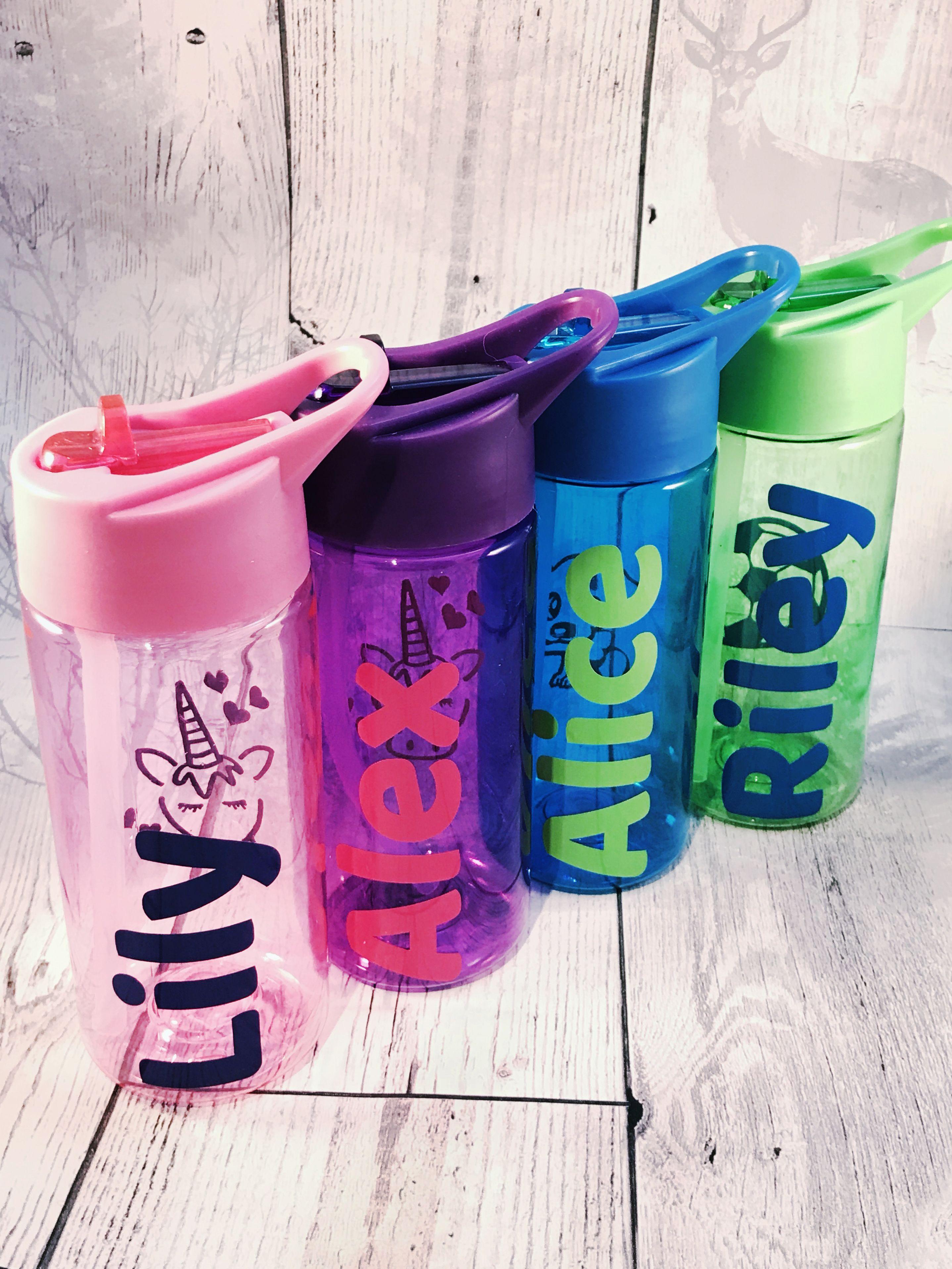 Back To School Personalised Kids Water Bottles School Water