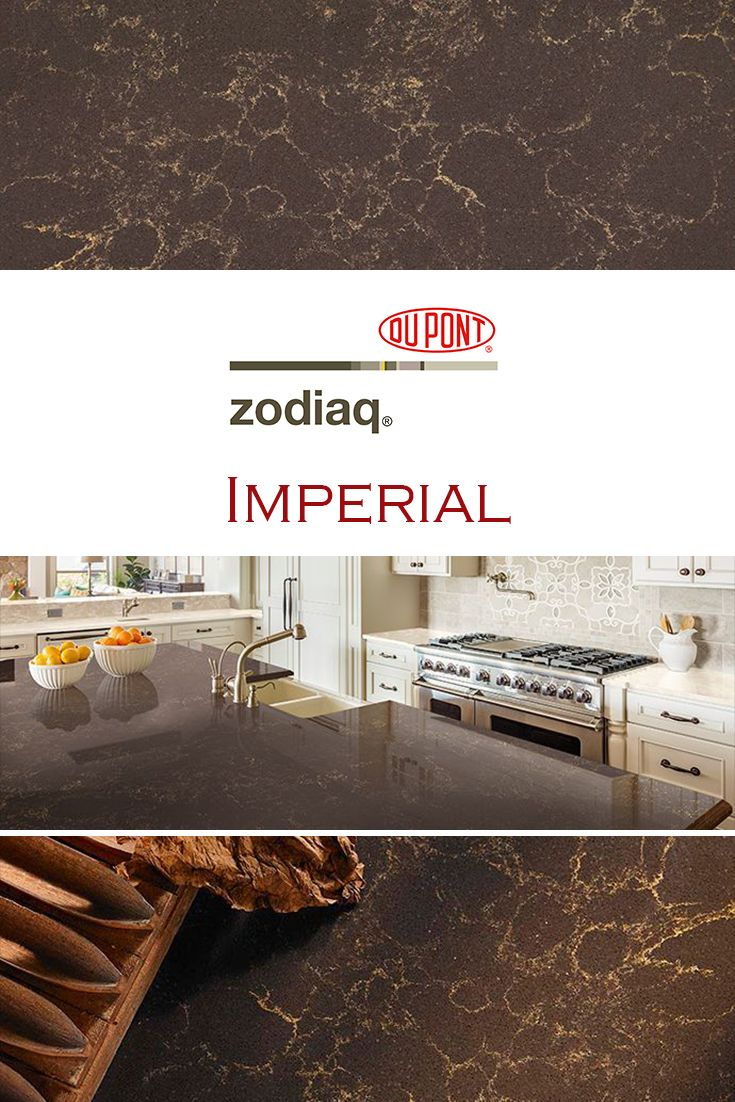 Imperial By Zodiaq Is Perfect For A Kitchen Quartz Countertop Replacement Replacing Countertops Quartz Kitchen Countertops Quartz Countertops