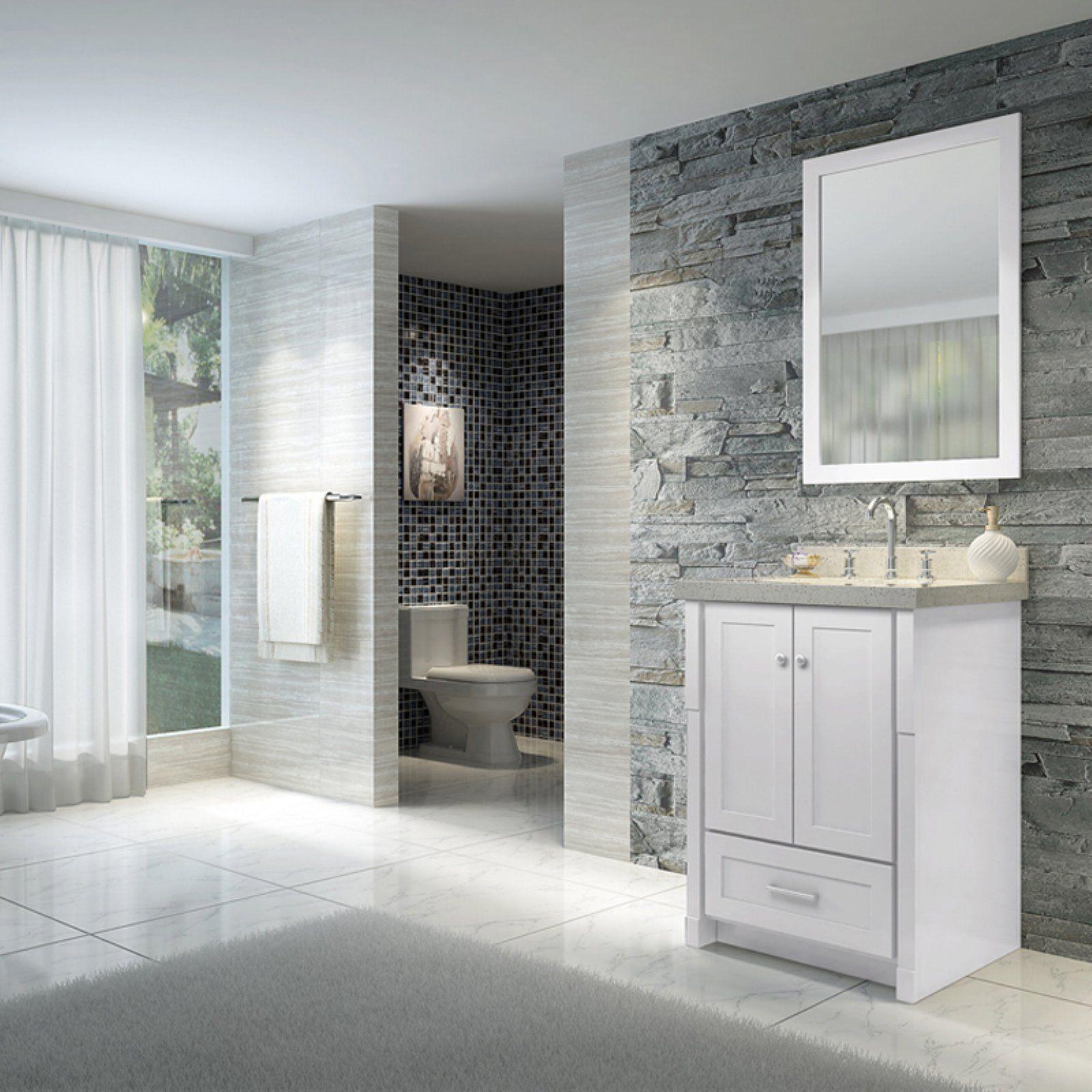 Ariel Adams L025S 25 in. Single Bathroom Vanity Set ...