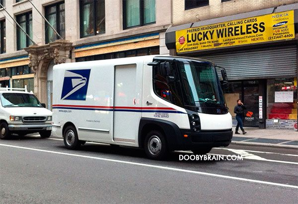 What do you think of the prototype USPS truck spotted in