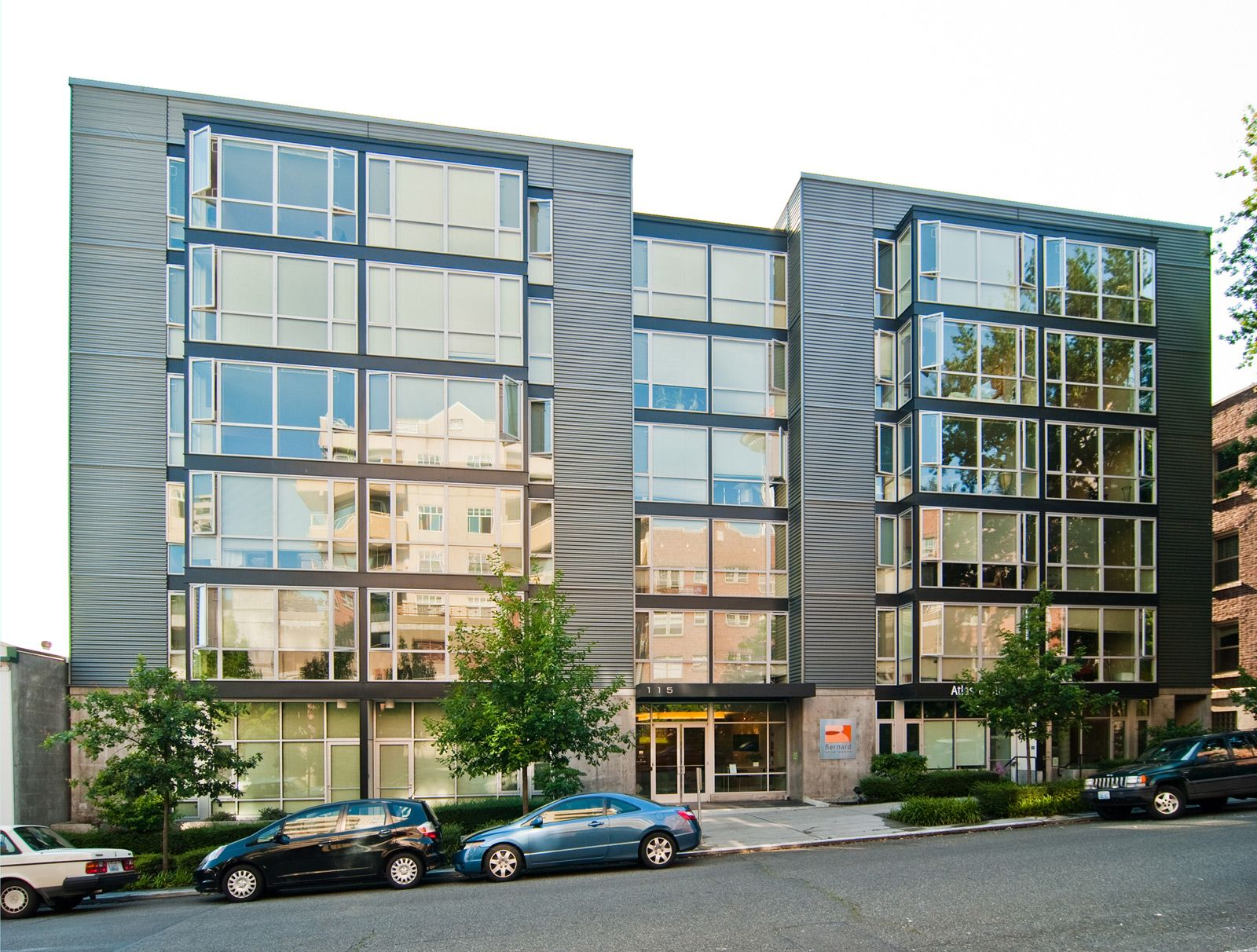 Post Graffiti\. Post Graffiti Art Definining A Modern Apartment Building In  . Modern Exterior