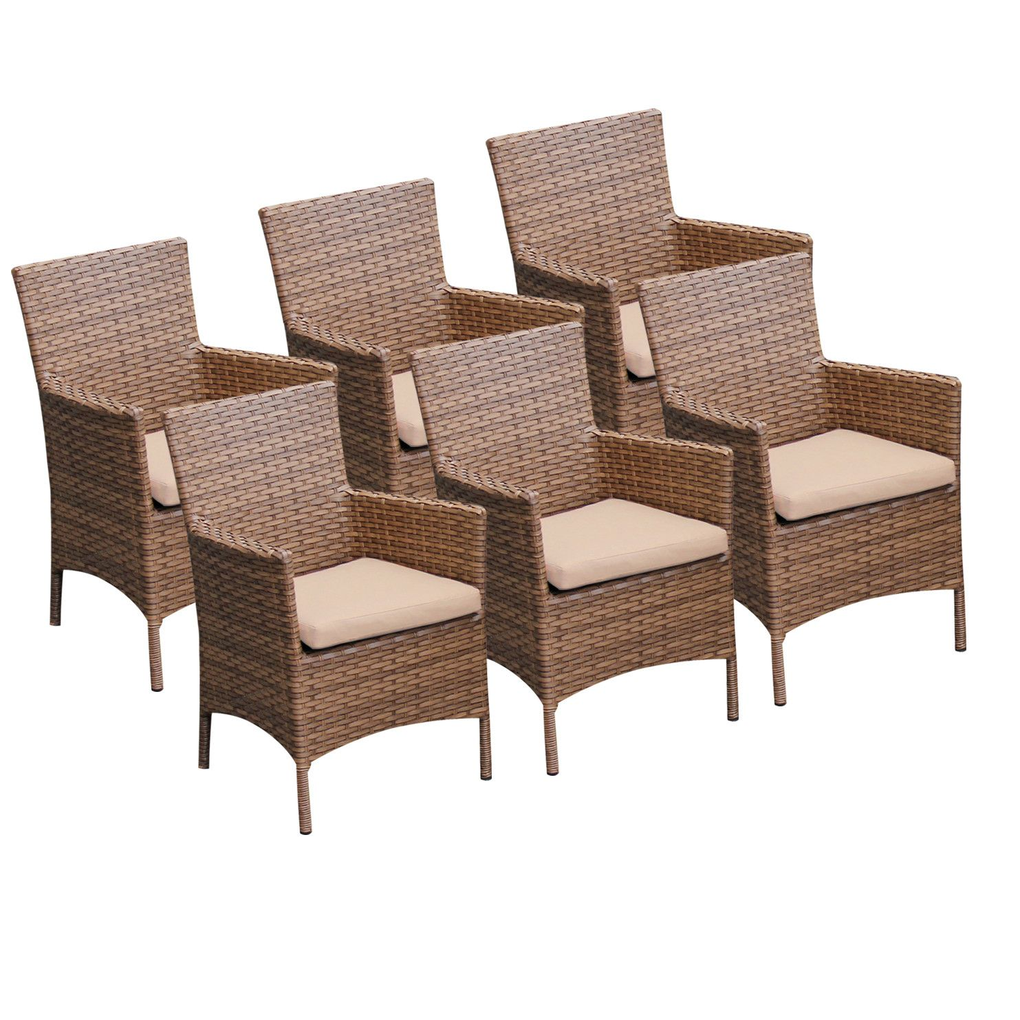 Overlook Dining Arm Chair with Cushion